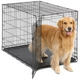 Midwest iCrate, клетка для собак, 1 дверь, пластиковый поддон