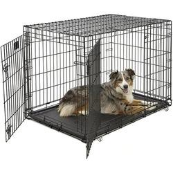 Midwest Life Stage, клетка для собак, 2 двери, пластиковый поддон