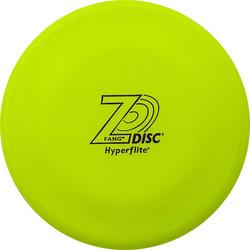 Z-Disc Fang Disc фризби-диск Z-Диск Фанг (аналог диска Челюсти Jawz), большой диск салатовый антибликовый
