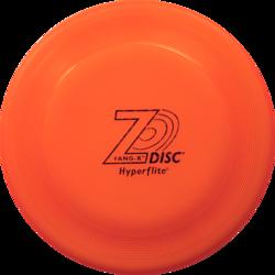 НОВИНКА! Z-Disc Fang-X Disc фризби-диск Z-Диск Фанг-Х (аналог диска Х-комп), большой диск оранжевый