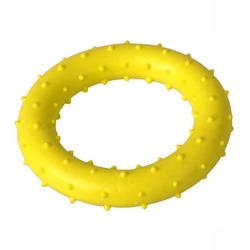 ГрызликАМ Кольцо с шипами 8 см, желтое, арт.007