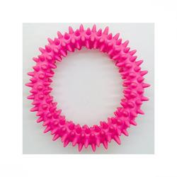 ГрызликАМ Кольцо с шипапи 10 см, розовое, арт.011