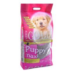 NERO GOLD super premium для щенков крупных пород с курицей и рисом