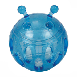 ГрызликАМ Мячик Bottle Sound Размер 9,3 см, Цвет Голубой, с бутылочным звуком, арт.034