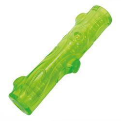 ГрызликАМ Косточка Палочка Bottle Sound Размер 16 см, Цвет Зеленый, с бутылочным звуком, арт.036