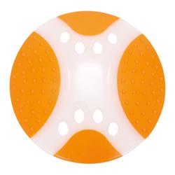 ГрызликАМ Тарелка летающая Frisbee Dental Nylon Размер 23 см, Цвет Оранжевая, арт.038