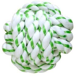 CanineClean игрушка для собак Мячик из каната 8 см с ароматом мяты