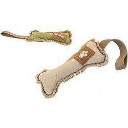 """Darell Игрушка для собак Тягалка-апорт """"Кость"""" с ручкой 24см"""