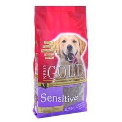 NERO GOLD super premium для собак с чувствительным пищеварением.