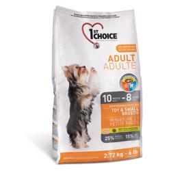 1st Choice для взрослых собак миниатюрных и малых пород, с курицей (Adult Toy&Small Breeds)