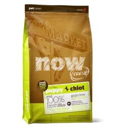 NOW Natural holistic беззерновой корм для щенков малых пород, с индейкой, уткой и овощами, Fresh Small Breed Puppy Recipe Grain Free 27/17