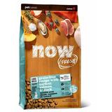 NOW Natural holistic беззерновой корм для щенков крупных пород с индейкой, уткой и овощами, Fresh Puppy Large Breed Recipe Grain Free