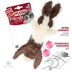 Gigwi Заяц с 2-мя пищалками, суперпрочная игрушка, 47 см арт.75353