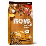 NOW Natural holistic беззерновой корм для взрослых собак с индейкой, уткой и овощами, Fresh Adult Recipe Grain Free