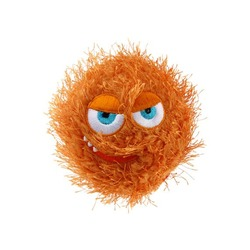 Gigwi Crazy ball Теннисный мяч с пищалкой, оранжевый, 7 см арт.75341