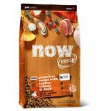 """NOW Natural holistic беззерновой корм """"Контроль веса"""" для собак с индейкой, уткой и овощами, Fresh Senior Recipe Grain Free"""