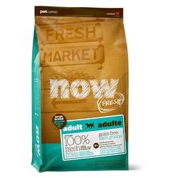 NOW Natural holistic беззерновой корм для взрослых собак крупных пород с индейкой, уткой и овощами, Fresh Adult Large Breed Recipe Grain Free