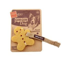 Gigwi игрушка пряник. Льняной ремешок. ЭКО-Резина 10 см, арт.75316