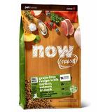 NOW Natural holistic беззерновой корм для пожилых собак малых пород, с индейкой, уткой и овощами, Fresh Small Breed Senior Recipe Grain Free 27/17