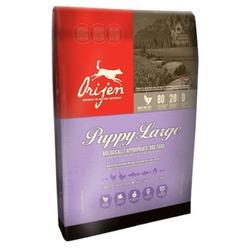 Orijen Puppy Large Breed беззерновой сухой корм для щенков крупных пород с цыпленком, индейкой, рыбой, фруктами и овощами (80/20)
