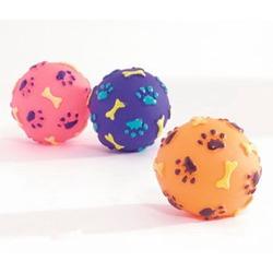 IPTS Мячик с лапками и косточками (винил)