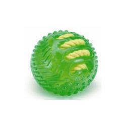 """IPTS Игрушка """"Мяч с вшитой веревкой"""" зеленый, 9см"""