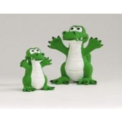 """IPTS Игрушка """"Зеленый крокодил"""", латекс, 12 см"""