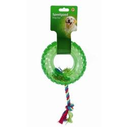 "IPTS Игрушка ""Покрышка на веревке"" зеленая, 14 см"