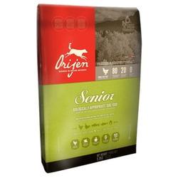 Orijen Senior беззерновой сухой корм для пожилых собак с цыпленком, индейкой, рыбой, фруктами и овощами (80/20)