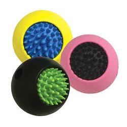 J.W. игрушка для собак Мячик с ежиком, каучук