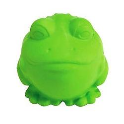J.W. игрушка для собак Лягушка-мяч, каучук, средняя 7,5 см.