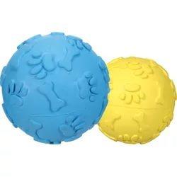 J.W. игрушка для собак мяч хихикающий, каучук