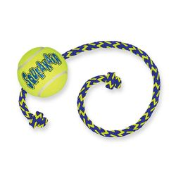 Kong Air игрушка теннисный мяч с веревкой