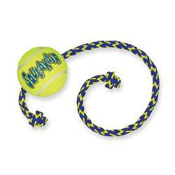 Kong Air теннисный мяч с веревкой для собак