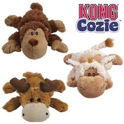 "Kong игрушка Cozie ""Кози Натура"" (в ассортименте: обезьянка, барашек, лось)"