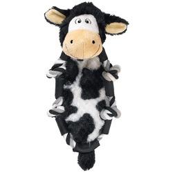 Kong Barnyard Knots игрушка для собак Коровка 25 х 11 см