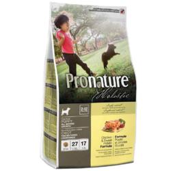 Pronature Holistic корм для щенков все пород Курица со Сладким Картофелем