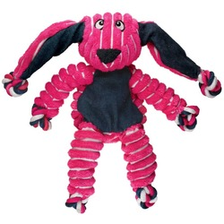 Kong Floppy Knots игрушка для собак Кролик (канаты внутри) 23 х 14 см