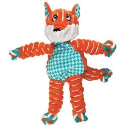 Kong Floppy Knots игрушка для собак Лиса (канаты внутри) 24 х 15 см