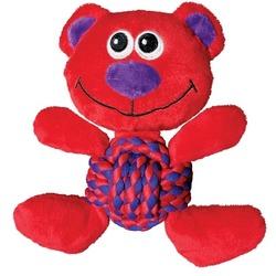 Kong Weave Knots игрушка для собак Мишка 22 х 20 см