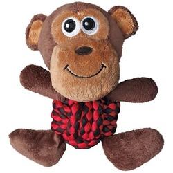 Kong Weave Knots игрушка для собак Обезьянка 22 х 20 см