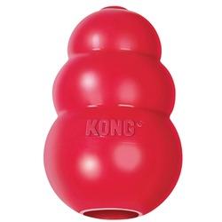 Kong Classic высокопрочная игрушка из литой резины для собак