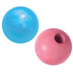 Kong Puppy Ball литой мяч для лакомства для щенков, 6 см