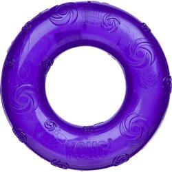 Kong Squeezz Ring Сквиз кольцо большое с пищалкой, 16 см