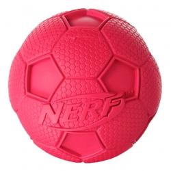 Мяч футбольный Nerf пищащий, 6 см, арт. 22187