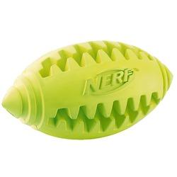 Мяч для лакомства регби Nerf рифленый, 8 см