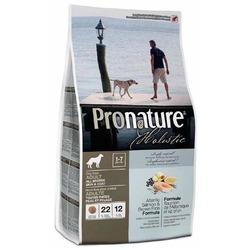 Pronature Холистик сухой корм для собак для кожи и шерсти лосось с рисом