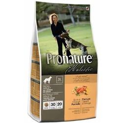 Pronature Холистик беззерновой сухой корм для собак утка с апельсином