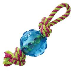 Pet Stages игрушка для собак Орка-мячик с канатиком малый