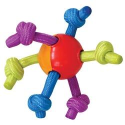 Pet Stages игрушка для собак мяч с канатиками, 8 см